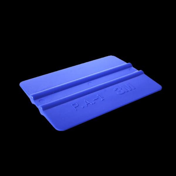"""Rakelis plastikāta auto aplīmēšanai 3М """"10 x 7,5 cm"""" Zils"""